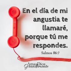 Salmo 86:5-8 Porque tú, Señor, eres bueno y perdonador, y grande en misericordia…