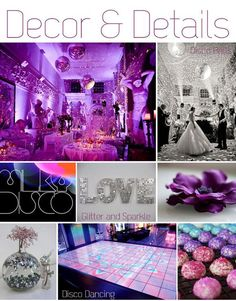 4 Pocketful of Dreams, Seventies Wedding Inspiration, Disco_Decor and Details