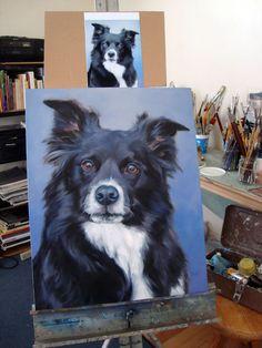 Custom Pet Portrait Paintings oil painting by puciPetPortraits