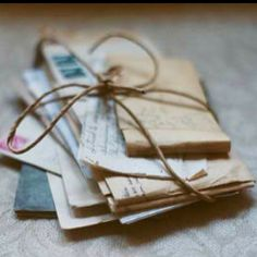 Love letters via www.mysoulfulhome.com