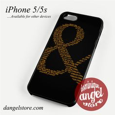 of-mice-and-men-logo 3 Phone case for iPhone 4/4s/5/5c/5s/6/6 plus