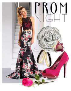 """""""The Perfect Prom Night"""" by mia-christine ❤ liked on Polyvore featuring Clarisse, Bordello, Judith Leiber, Thalia Sodi and PROMNIGHT"""