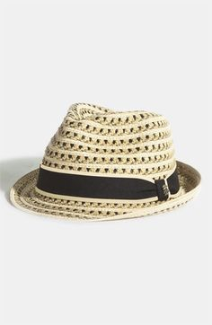 Derby Gear: Tommy Bahama Braided Paper Fedora available at #Nordstrom $45
