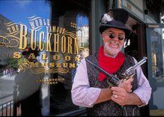 Gunslinger Outside the Buckhorn Saloon and Museum, Photo Credit:Al Rendon