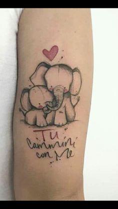 d2eb1e46fd4e6 Mom Baby Tattoo, Baby Name Tattoos, Sister Tattoos, Cute Tattoos, Small  Tattoos