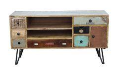 Meuble TV manguier Fusion 120x40x65