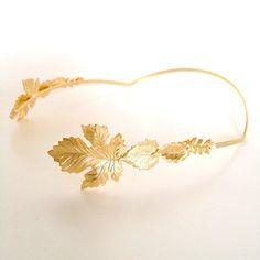 Princess Rosmarin Greek Goddess Crown Boho Headband by avigailadam, $100.00