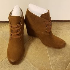 a32069a11380 DV8 Genna Lace Up Wedge Bootie from Stitch Fix. https   www.