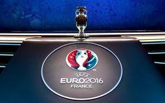 壁紙をダウンロードする euro2016年, サッカー, フランス-2016年, uefa