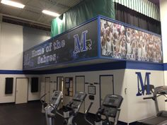 We've made some summer renovations for the fitness facility on campus!
