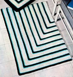 Striped Rug | Free Crochet Patterns