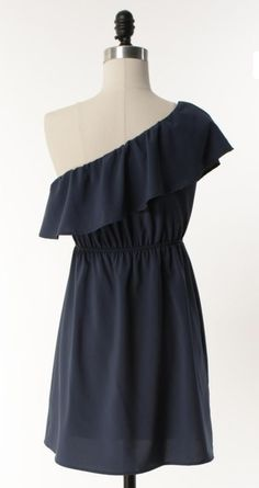 Adabelles The Darling Blue Dress for a country wedding bridesmaid?---I think different color though Cute Bridesmaid Dresses, Blue Bridesmaids, Wedding Bridesmaids, Super Cute Dresses, Pretty Dresses, Blue Dresses, Just In Case, Just For You, Cute Fashion