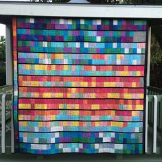 Live a Colorful Life: Tale of Two Cities: The Temperature Quilt