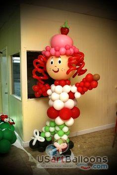 Rosita Fresita en globos  Michelle