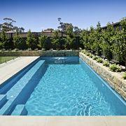 piscina com degraus