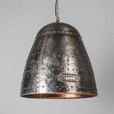 Lampa wisząca Steampunk stal