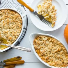 Great gratin! Try this #pumpkin and #sage #gratin as a side dish for your turkey this year