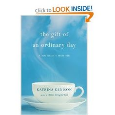 Currently reading! First book for book club 2012  the gift of an ordinary day  (also love how nothing is capitalized in the title - just had to say that!)
