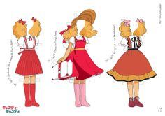 Candy's outfits