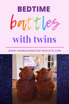 Do you find yourself having bedtime battles with your twins? Here's what we struggled with our two year old twins, and how we tried to make bedtime run more smoothly. Toddler Sleep, Kids Sleep, Parenting Styles, Parenting Advice, Kids Behavior, Child Behaviour, Positive Behavior, Attachment Parenting, Bedtime Routine