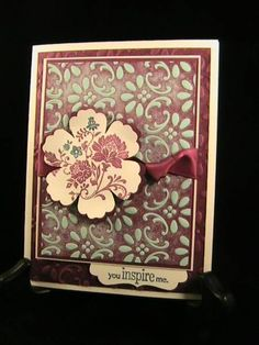 Fresh Inspiration - Stamp Class 4/12 by susie nelson - Cards and Paper Crafts at Splitcoaststampers