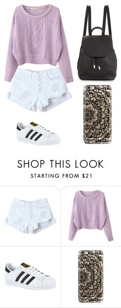 """""""Untitled #213"""" by karenrodriguez-iv on Polyvore featuring WithChic, Chicnova Fashion, adidas, Casetify and rag & bone"""