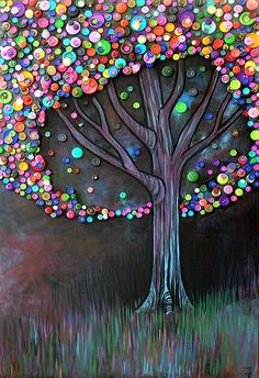 Button tree by monica furlow
