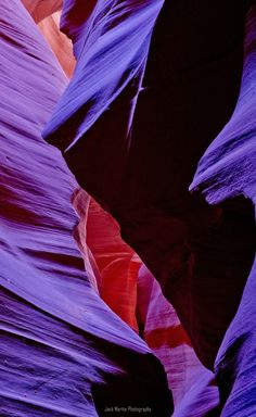 slot canyons in Arizona with purple added for artsy fartsy .seen in just about every colour of the rainbow.the original is beautiful. Beautiful Landscape Photography, Beautiful Landscapes, Slot Canyon, Grand Canyon, Bottom Of The Ocean, All Things Purple, Antelope Canyon, My Favorite Color, Rainbow Colors