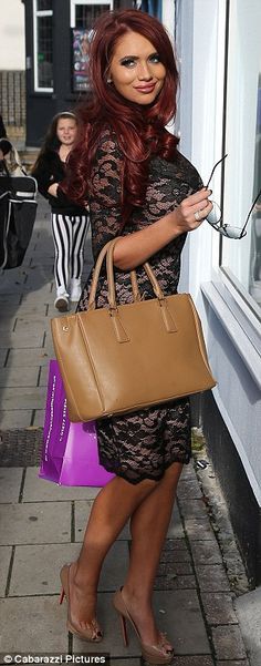 Amy Childs. This is one of the guests on our magazine show
