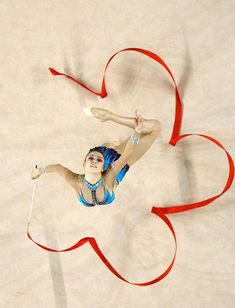 Find images and videos about sports, ribbon and rhythmic gymnastics on We Heart It - the app to get lost in what you love. Gymnastics World, Gymnastics Photos, Gymnastics Photography, Artistic Gymnastics, Rhythmic Gymnastics, Ribbon Gymnastics, Ice Skating, Figure Skating, Karate