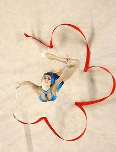 Evgenia Kanaeva of Russia