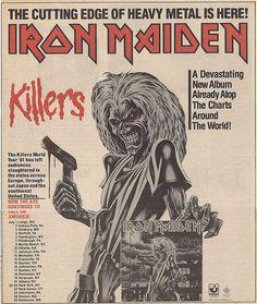 Killers! 1981  — com Iron Maiden.