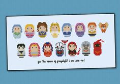 She-Ra – Princess of the Power - Cross Stitch Patterns - Products
