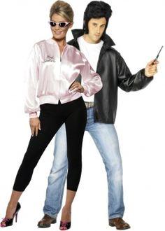 Disfraz de pareja de Grease
