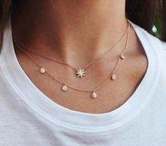 Jewerly necklace simple diamond jewels ideas for 2019 Cute Jewelry, Jewelry Box, Jewelry Accessories, Fashion Accessories, Jewelry Necklaces, Fashion Jewelry, Jewlery, Fashion Necklace, Diamond Necklaces