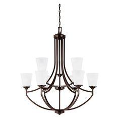 Sea Gull Lighting Hanford 3124509EN Chandelier - 3124509EN-710
