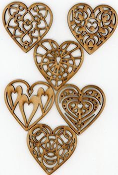 Heart Wooden Christmas Holiday Ornaments Decorations Set of 6, by EP Laser EP Laser http://www.amazon.com/dp/B015GHGDPW/ref=cm_sw_r_pi_dp_nrzawb1XYVF3B