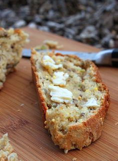 Hearty Whole Grain Basil Bread - step by step photos
