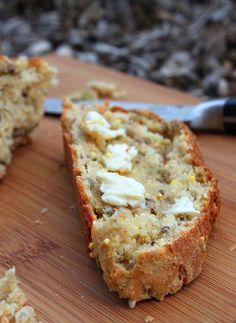 Hearty Whole Grain Basil Bread - step by step photos