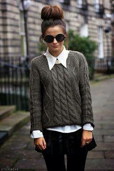 Sweaters para vernos y sentirnos chic!! nunca fallan. es la mejor opción para las mañanas frescas, a la oficina o cualquier lugar.