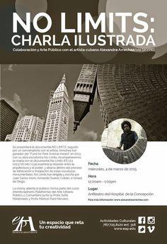 PUERTO RICO ART NEWS: No Limits: Charla Ilustrada con el artista Cubano ...