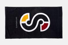 colorblock s towel_ saturdays surf nyc