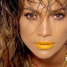 yellow lipstick! (J.Lo  in her new video clip!)