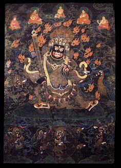 (via Thangkas and Mandalas: Himalayan Art)