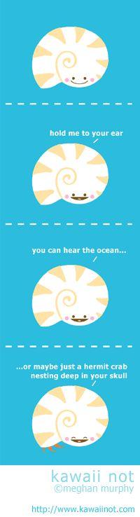 Kawaii Not - Seashell