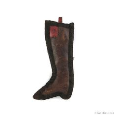 """Adorable small leather pin keep in the form of a boot. 3.5"""" x 1.5"""" Leather Boots, Shapes, Glee, Sewing, How To Wear, Collection, Fashion, Moda, Dressmaking"""