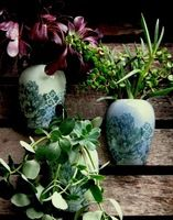 Wall vases - hand made ceramic