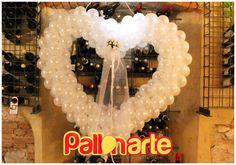 cuore con palloncini