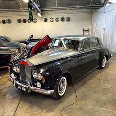 Left hand drive 1964 Rolls Royce Silver Cloud III