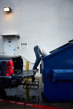 The Pro Dumpster Diver Who's Making Thousands Off America's Biggest Retailers Trash Dump, Seed Money, Sanford And Son, Dumpster Diving, Retail, America, Big, Austin Texas, Yard Sales